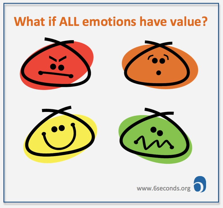 what if ALL emotions have value - happiness, but also sadness, anger, fear... ?