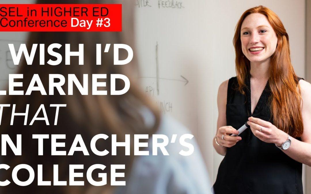 SEL for Teacher Education (#19)